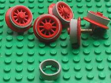 Caoutchouc pour roues moteur 12 v LEGO TRAIN rubber rim for motor wheels x458