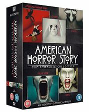 AMERICAN HORROR STORY Complete Collection (5 stagioni) BOX 20 DVD Inglese NEW.cp