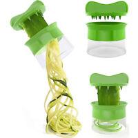 Vegetable Spiralizer Spiral Slicer Zucchini Noodle Pasta Spaghetti Spirals Maker