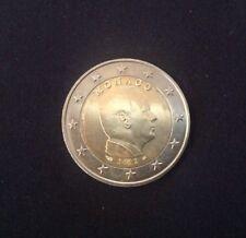 MONACO 2 deux Euro Coin 2012 RARE Prince Albert