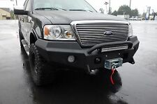 2004-2008 Ford F-150 Winch Bumper with Single bar brush guard