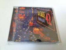 "ORIGINAL SOUNDTRACK ""LA CALLE 42 EL MUSICAL"" CD 10 TRACKS BANDA SONORA BSO OST"