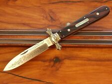 "Massive Parker Cut Co Handmade ""The Great Far West Hunting Knife"" Beautiful!!"