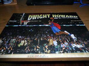 DWIGHT HOWARD signed/autographed 11x17 poster NBA ORLANDO MAGIC SUPERMAN DUNK