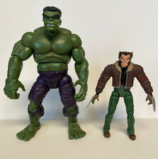 Marvel Legends Galactuse Series Hulk And ML Logan