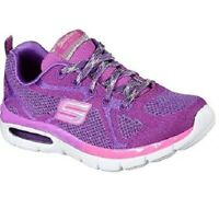 Skechers AIR APPEAL BREEZY BLISS Girls   Running Trainers Purple / Coral 13.5
