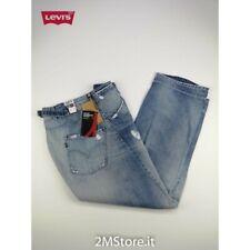LEVI'S jeans LEVIS ENGINEERED 00002 AZZURRO SLAVATO LOOSE FIT COUPELARGE Vintage