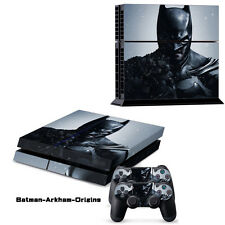 Batman Game Decal Cover Skin Sticker For PS4 PlayStation Console 2 Controller US