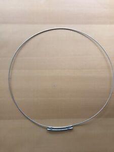 Genuine Hotpoint Washing Machine Door Seal Front Clamp Band Zipper type 1604438