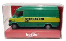 1:87 Scale Herpa Mercedes Benz 207D Panel Van - SCHENKER - BNIB