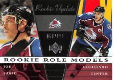 2002-03 Upper Deck Rookie Update #112 Joe Sakic Avalance /999