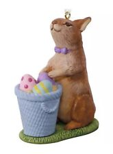 2018 Marjolein Bastin Easter Bunny Keepsake Ornament by Hallmark