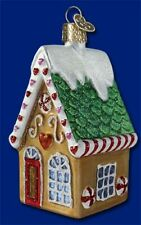 Merck Family Owc Old World Christmas Glass Ornament: Gingerbread Cookie Cottage