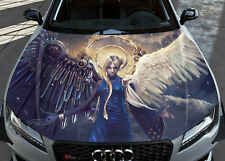 Wings Angels Demon Gothic Car Hood Wrap Color Vinyl Sticker Decal Fit Any Car