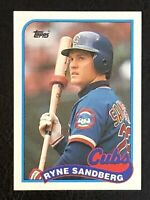 1989 Topps Ryne Sandberg Card #360 EX/NM - Chicago Cubs HOF
