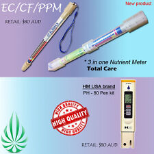 HYDROPONICS HIGH QUALITY EC CF PPM ECO STICK NUTRIENT METER PH METER PEN TESTER