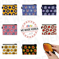 BT21 Character Flower Multi Pouch Case 7types Official K-POP Authentic Goods