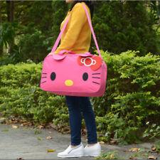 Women Travel Duffel Bag Hello Kitty Handbags weekend trip tote Luggage Shoulder