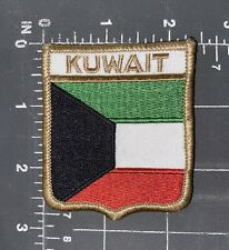 State of Kuwait National Country Flag Patch Shield Crest Ensign Middle East City