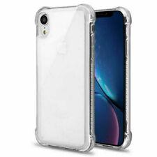 MYBAT Plain Transparent Silicone Phone Case for Apple iPhone X - Clear