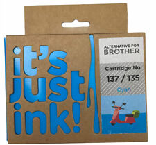 it's just ink! Brother Cartridge. No 137 135 Cyan