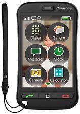 Binatone sm800 Touch Screen Big Button SIM Gratis Telefono cellulare senior OAP