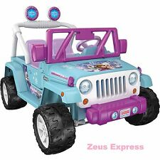 Ride on Jeep Car Frozen Anna Elsa 2 seat Battery-Powered Toy 2 speed Pink Blue