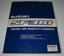 Werkstatthandbuch Suzuki Swift Typ EA SF 310 Anhang Klima Motor Bremsen Getriebe