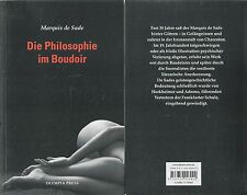 Die Philosophie im Boudoir - (Olympia Press) - Marquis de Sade - NEU