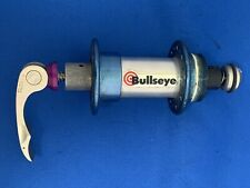 Bullseye BMX MTB Rear Hub SLIVER WITH BLUE 36 hole Racing With Quick Release