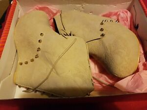 Iron Fist Nude skull Size 5 Man Eater Wedge Boots low start low p&p BARGAIN LOOK