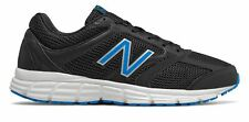 New Balance Men's 460v2 Running Shoes Black with Blue