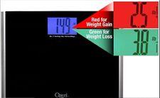 Ozeri Precision Pro II Digital Bath Scale (440 lbs Capacity) with Weight Change