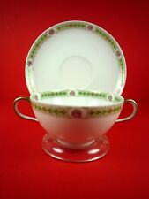 OLD ABBEY LIMOGES TEA CUP & SAUCER