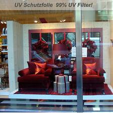 UV-Schutzfolie Fensterfolie 99% UV Filter - hochtransparent - Laufmeterware -