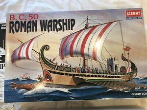 ACADEMY 1/250 ROMAN WARSHIP MODEL KIT