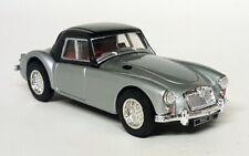 Corgi 1/43 Scale - ICI Collection MG MGA 1600 MK1 Silver Black diecast model car