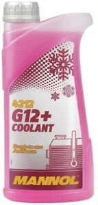 1LTR  G12+ Red Antifreeze / Coolant  to -40∞C (Long-life) 50:50 RATIO