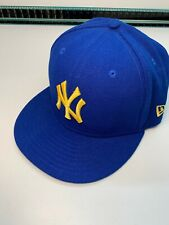 New Era New York Yankees Baseball Kids Youth Hat Cap Blue 59Fifty 6 5//8 53cm NEW