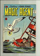 MAGIC AGENT #3 AMERICAN COMICS GROUP 1966 COMICS SILVER AGE