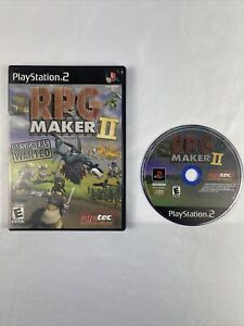 RPG Maker II Sony PlayStation 2 PS2  Video Game Pre Owned