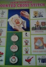 Leisure Arts Teach Yourself  Counted Cross Stitch Booklet