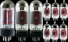 Tube Set - for Fender 64 Vibroverb Custom JJ Electronics APEX Matched
