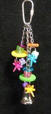 Dragon Fly - Cockatiel Parakeet Parrotlet Lovebird Parrot Bird Toy Beads Disks