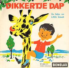 """KINDERKOOR HENK V/D VELDE - Dikkertje Dap (EP 7"""" MET 6 LIEDJES A.M.G. SCHMIDT)"""