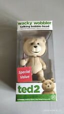FUNKO Ted 2 Wacky Wobbler Talking Bobble-Head.Spencer's Exclusive /RARE TED 2