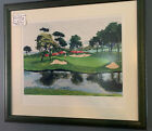 "Mark King ""Augusta Pond"" signed serigraph 83/145 Martin Lawrence Framed"