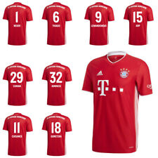Adidas FC Bayern Munich Mens Football Home Jersey Shirt 2020 2021 w/ Player Name