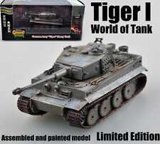 WWII German Tiger I Tank of world limited edition 1:72 no diecast Easy Model