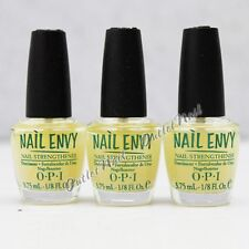 LOT 3 - OPI Nail Envy Nail Strengthener 3.75 ml - 1/8 fl oz Mini Original Set